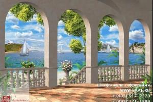 Каталог фресок - Морской пейзаж