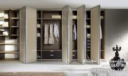 Шкаф со складными дверьми Командор Концертино