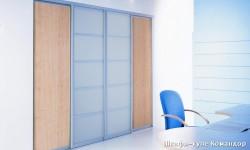 Шкаф для офиса с раздвижными дверьми Командор