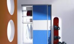 Командор шкаф купе в комнату подростка
